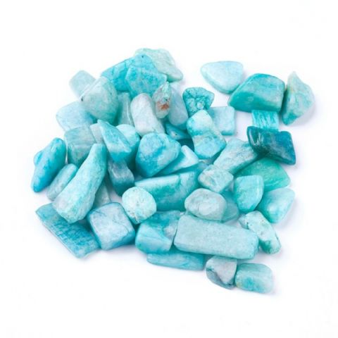 Chips - Natural Amazonite 7~21mm - 50g
